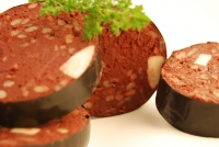 Five Slices Of Award Winning Nidderdale Yorkshire Black Pudding