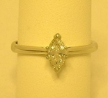 18ct Marquise Shape Diamond Ring