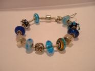 Pandora / Trollbead style bracelet
