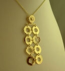 RETRO CIRCLES NECKLET
