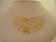 Spiders Web Necklet