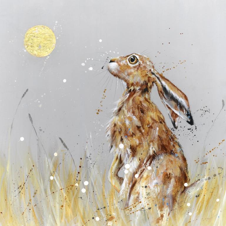 Moongazing Hare Nicole Fenwick Nicole Fenwick Fenwick