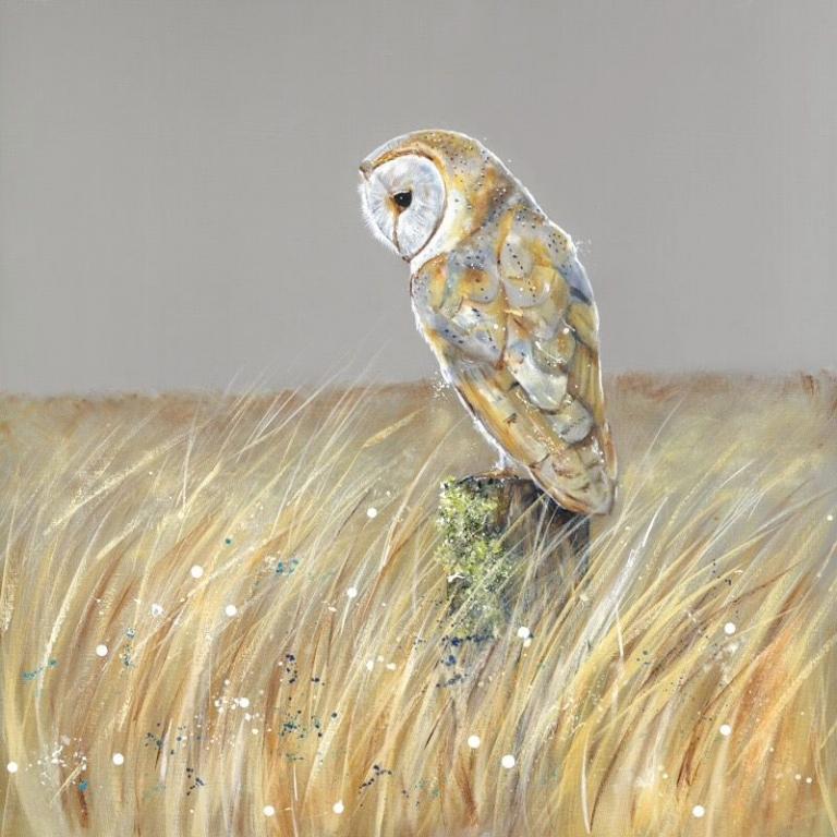 Northumberland Barn Owl Nicole Fenwick Original