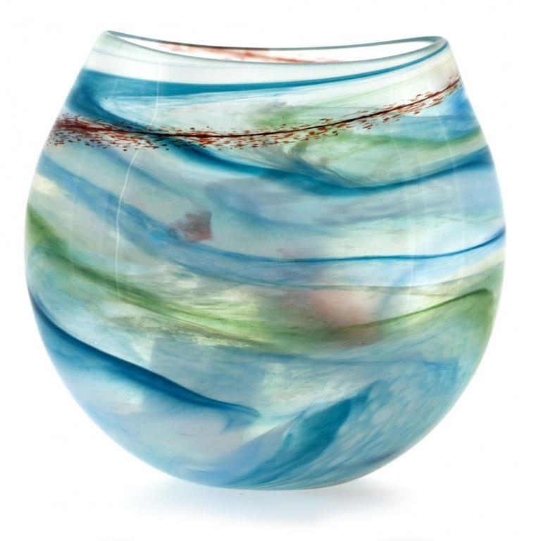 Swirl Small Vase Martin Andrew Glass Vases Fenwick Gallery