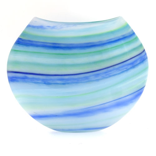 Swirl Vase Martin Andrew Glass Vases Fenwick Gallery