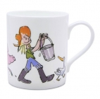 Quentin Blake Feeding the pigs Mug