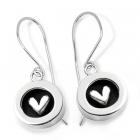 Secret Hearts Drop Earrings
