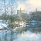 Warkworth Snow Print