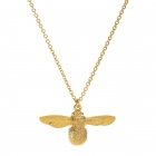 Baby Bee Necklace - Gold