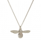 Baby Bee necklace silver