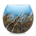 Beach Small Flat Vase