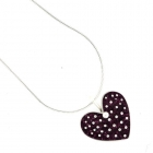 Berry Polka Necklace