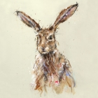Brown Hare - Limited Edition Print on Canvas
