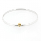 Diamonds in Springtime Bangle