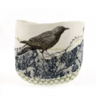 Elemental Felt Bowl - Blackbird