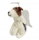 Festive Angel Dog