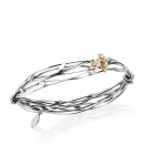 Floral Entwined Bangle