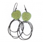 Flotsam earrings - Green
