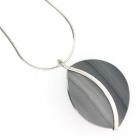 Grey Curve Pendant