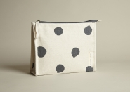 Grey Spot Washbag