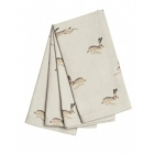 Hare Napkins - Set of 4