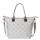 Hearts Oilcloth Oundle Bag