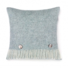 Herringbone Cushion - Duck Egg