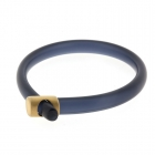 Hoop Bangle Midnight and Gold