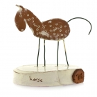 Horse on Plinth