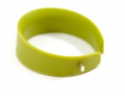 Lime Jetson Wide Bangle