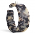 Jetson Wide Bangle Tortoiseshell