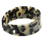 Tortoiseshell Jetson Wide Bangle