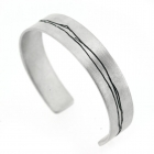 Kate Smith - Etched Cuff