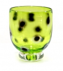 Lime Green Spot Reduction Bowl
