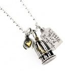 Little Bird Singing Necklace