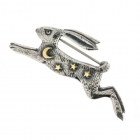 Magical Hare Brooch