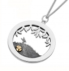 Meadow Hare Necklace