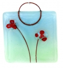 Mini Hanging Red Poppies