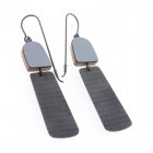 Minimalist stripe earrings
