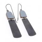 Minimalist stripe earrings