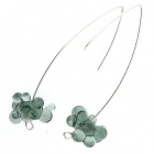 Molecule Drop Earrings