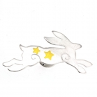 Mystical Hare Pin Brooch