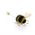 Needlefelted Bee Pin Brooch