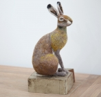 Needlefelted Hare - Zoe Stainton