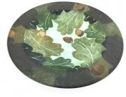 Oak Leaf Rimmed Dish