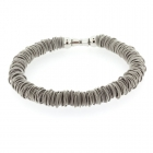 Odessa Necklace - Light Grey