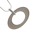 Oval Necklace Oyster