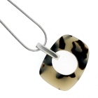 Oval Necklace Tortoiseshell