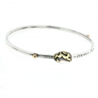 Over the moon sliding bangle