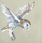 Owl Print - Hunting